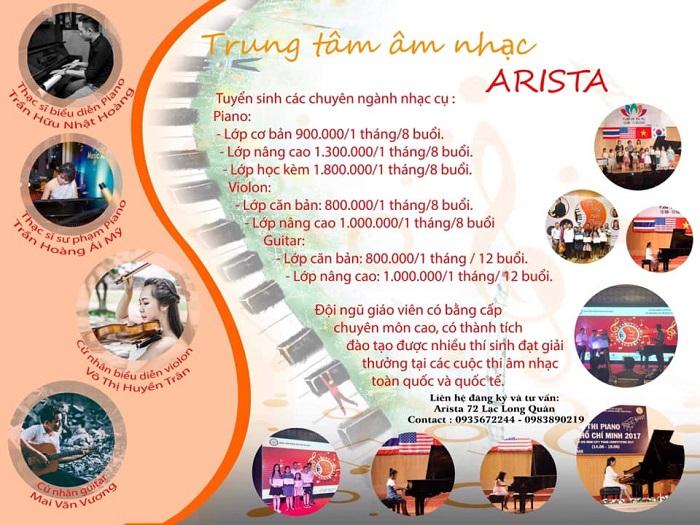 Trung Tâm Âm Nhạc Arista Music Center