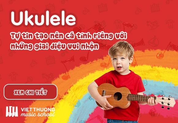 Học đàn Ukulele Việt Thương